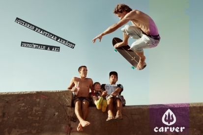Carver Skateboards Spain Axi Muniain Aéreos surf